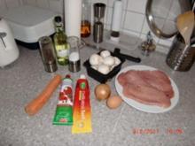 Schnitzel mit Jägersoße - Rezept