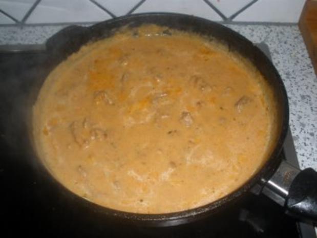 Fleischgerichte - Paprikageschnetzeltes - Rezept - Bild Nr. 2