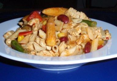 Mexikanische Nudel-Fleisch-Pfanne - Rezept