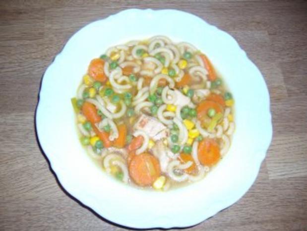 Schnelle Suppe mit Hähnchen - Rezept - Bild Nr. 2