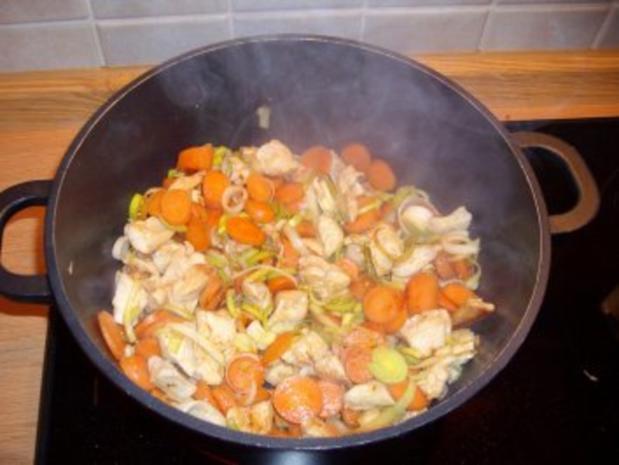 Schnelle Suppe mit Hähnchen - Rezept