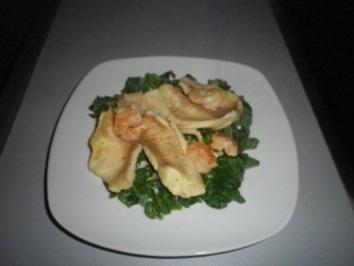 Fisch auf Blattspinat - Rezept