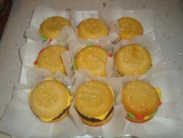 Cheeseburger Cupcakes / Muffins - Rezept