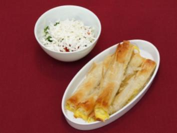 Paprika-Börek und Schopskasalata (Lucy von den No Angels) - Rezept