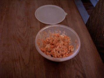 Möhren-Kraut Salat - Rezept