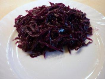 Rotkohl mariniert - Rezept