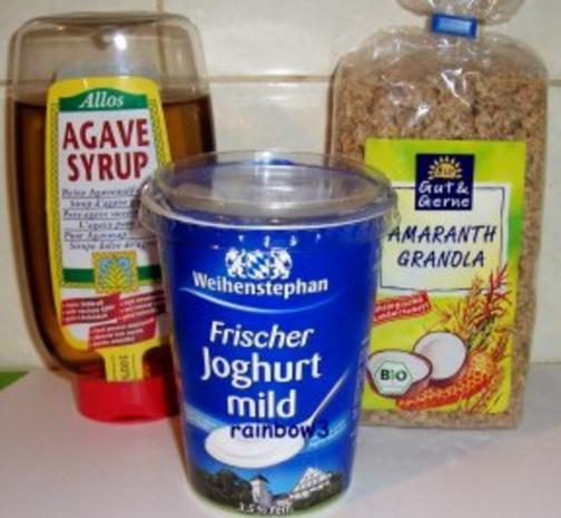 Frühstück: Granola-Joghurt - Rezept