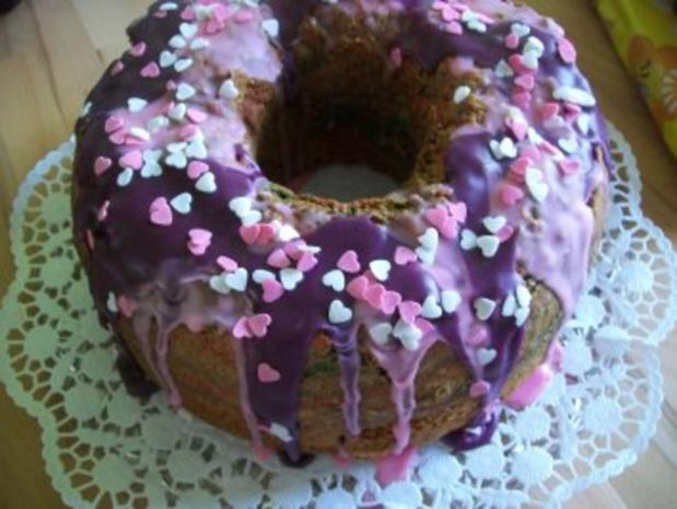 Regenbogen Kuchen - Rezept - Bild Nr. 6