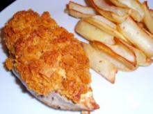 Chickenfilets with Exploding Crust - Rezept