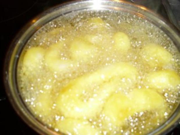 Frittierte Tintenfischringe   -  Mitternachtssnack - Rezept - Bild Nr. 3