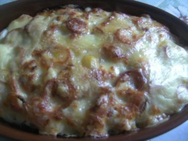 Auflauf  ( Tortellini-Gemüse- Auflauf) - Rezept