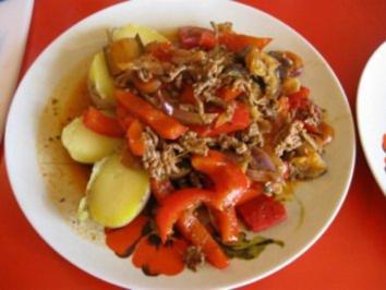 Ratatouille mit Hackfleisch - Rezept