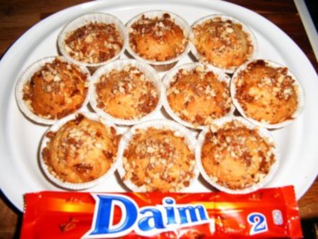 Daim Muffins - Rezept