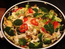 Vegetarische Asia Pfanne - Rezept