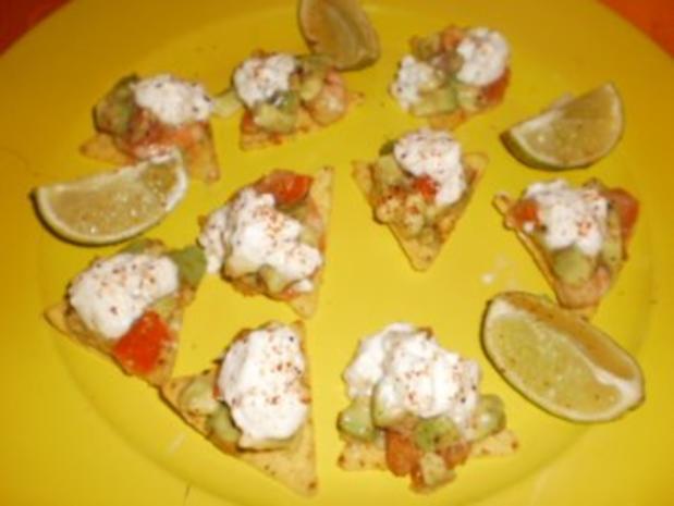 Pikante Garnelen mit Avocado - Rezept - Bild Nr. 2