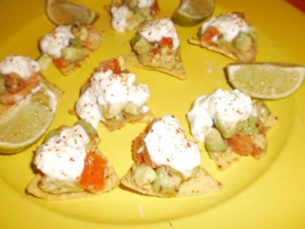 Pikante Garnelen mit Avocado - Rezept - Bild Nr. 3