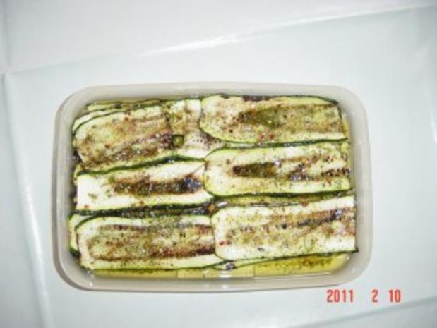 Gegrillte Zucchini von Sergio - Rezept