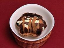 Eiswaffeln mit Sahne und Sirup (Pino Severino) - Rezept