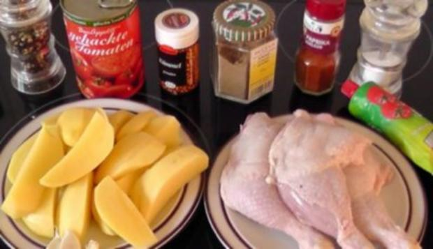 Hähnchen-Kartoffel-Pfanne aus dem Ofen - Rezept - Bild Nr. 2