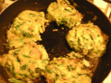 Kartoffel-Wirsing-Bratlinge - Rezept
