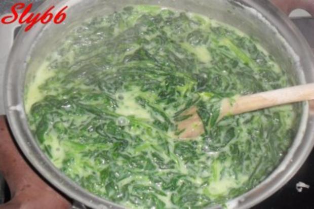 Soßen:Spinat-Soße mit viel Knobi - Rezept - Bild Nr. 4