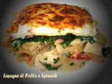 Lasagne di Pollo - Rezept