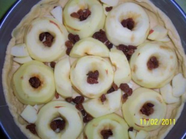 Apfel-Rahm Kuchen - Rezept - Bild Nr. 2