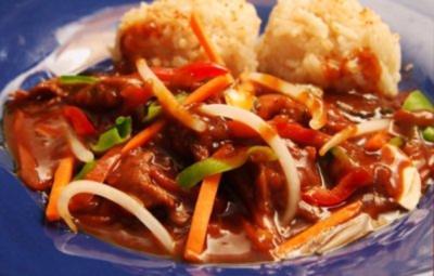 Buntes Durcheinander - asiatische Art und scharf - Rezept