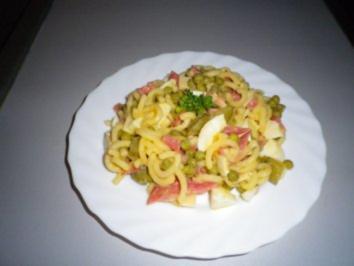 Salami - Nudel - Salat - Rezept