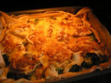 gedeckter Broccoli-Kuchen - Rezept