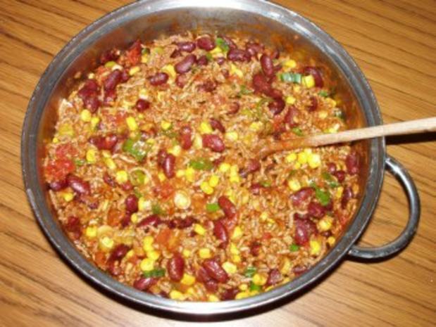 Tortilla gefüllt mit Chilli con Carne - Rezept - Bild Nr. 4