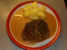 Fleischgerichte: Wirsingkohlrouladen - Rezept