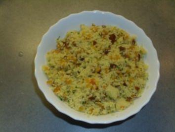 Salate: Couscoussalat der zweite. - Rezept