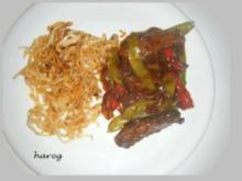 Asia-Pfanne mit Filetspitzen - Rezept