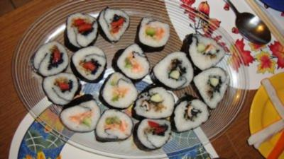 sushi mit milchreis rezepte. Black Bedroom Furniture Sets. Home Design Ideas
