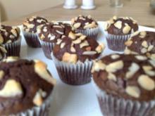 Muffins: Nutella Muffins im Miniformat - Rezept