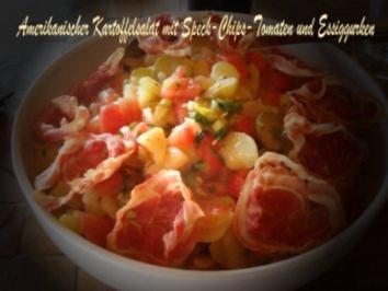 Rezept: Amerikanischer Kartoffelsalat