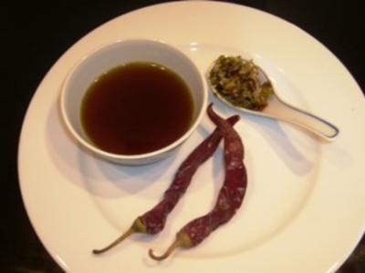 Scharfe  Chilisauce - Rezept