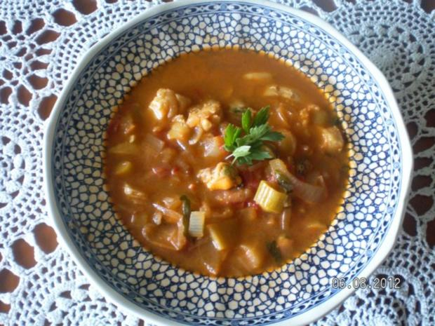 Fischsuppe Störtebeker - Rezept