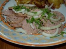 Regensburger Wurstsalat - Rezept