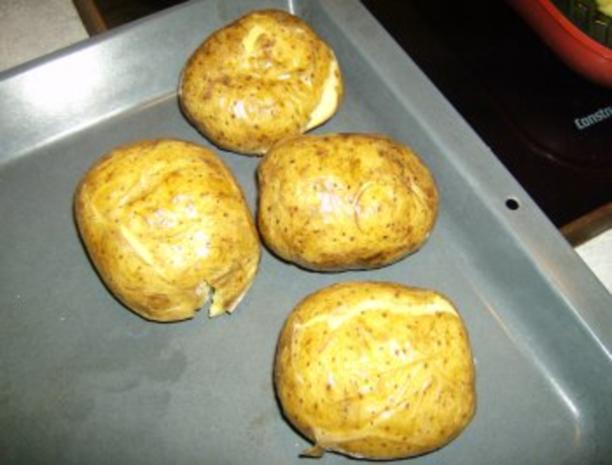 Beilage oder Snack Backkartoffel - Rezept - Bild Nr. 2