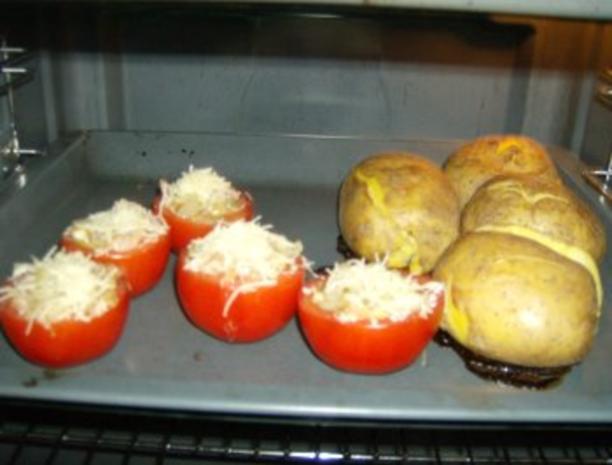 Beilage oder Snack Backkartoffel - Rezept - Bild Nr. 3