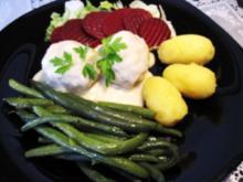 Fleischklößchen in scharfer Meerrettichsoße - Rezept