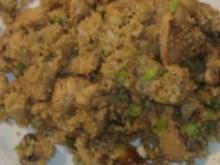 Couscous mit Hähnchenbrust und Champignons - Rezept