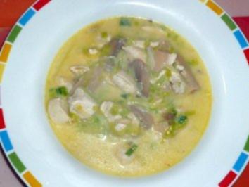 Lauch-Geflügel-Suppe - Rezept