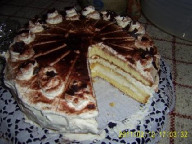 Tiramesu-Torte - Rezept