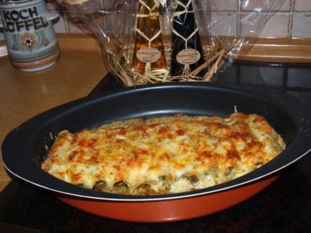Canelloni Piemontese (gefüllte Nudelröllchen aus dem Ofen) - Rezept