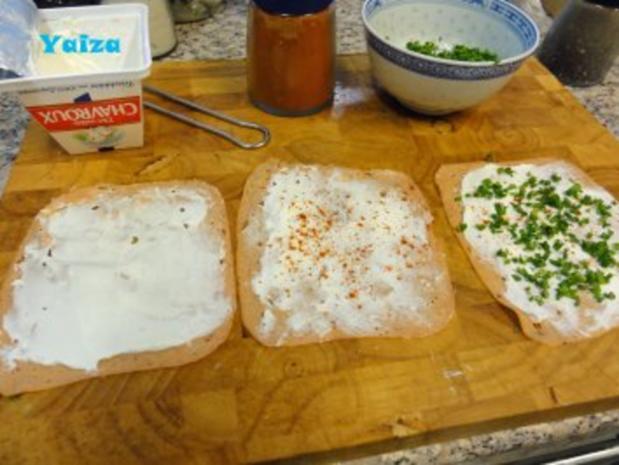 Leberkäsröllchen gebacken - Rezept - Bild Nr. 3