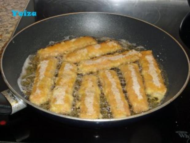 Leberkäsröllchen gebacken - Rezept - Bild Nr. 5