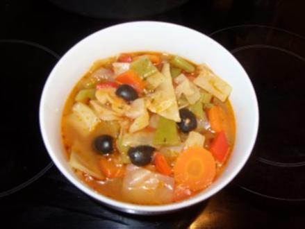 C: Kohlsuppe mediterran - Rezept
